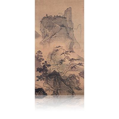四季山水図(夏) Four Seasons landscape view 雪舟 Sesshu