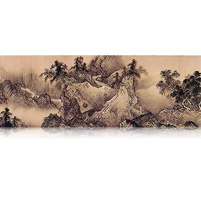 四季山水図巻(春) Four Seasons landscape view 雪舟 Sesshu