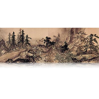 四季山水図巻(秋) Four Seasons landscape view 雪舟 Sesshu