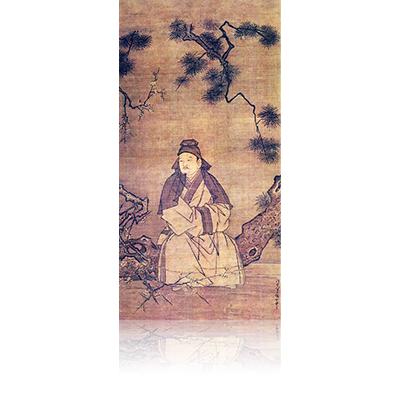 渡唐天神図 とうとてんじんず Totou Tenjin view 雪舟 Sesshu