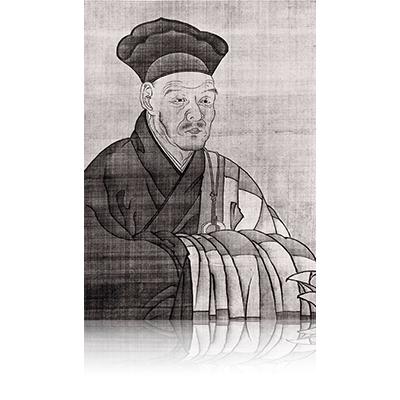 雲谷等益筆 雪舟像 うんこくとうえきひつ せっしゅうぞう Unkoku Toueki brush Sesshu image.  雪舟 Sesshu