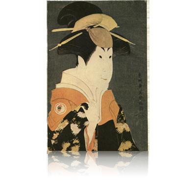 ニ代瀬川富三郎の大岸蔵人妻やどり木 写楽