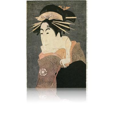 松本米三郎のけはい坂の少将 実はしのぶ 写楽