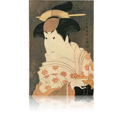 四代岩井半四郎の乳人重の井 写楽