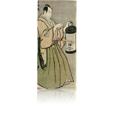 市川男女蔵の富田兵太郎 写楽