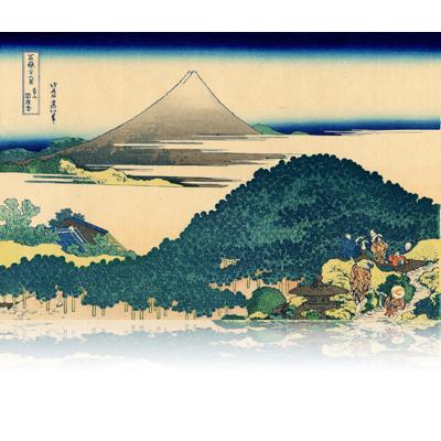 青山圓座枩 あおやまえんざまつ The Circular Pine Trees of Aoyama. wpfmf3608