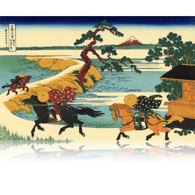 隅田川関屋の里 すみだがわせきやのさと Barrier Town on the Sumida River. wpfmf3613