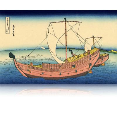 上總ノ海路 かずさのかいじ The Kazusa Province sea route. wpfmf3617