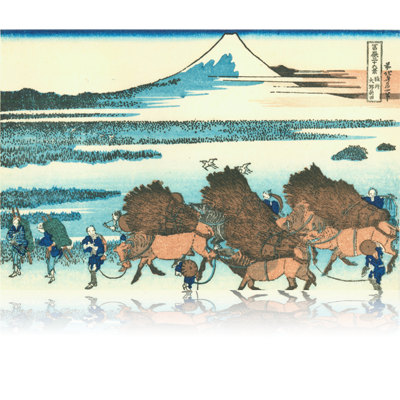 駿州大野新田 すんしゅうおおのしんでん Ono Shinden in the Suruga Province. wpfmf3631