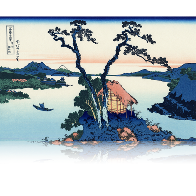 信州諏訪湖 しんしゅうすわこ Lake Suwa in Shinano Province. wpfmf3644