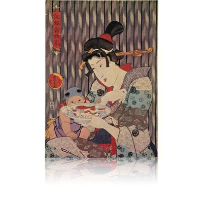 三代豊国(国貞) 誂織当世島・金花糖