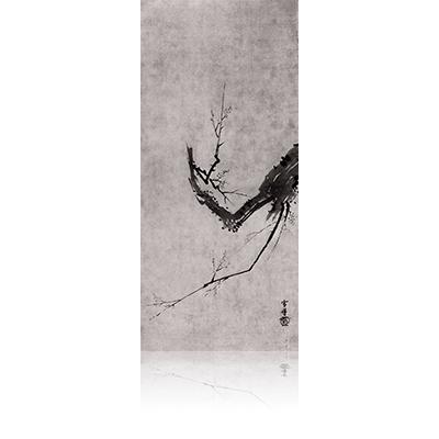 墨梅図 ぼくばいず Bokubai image. 雪舟 Sesshu
