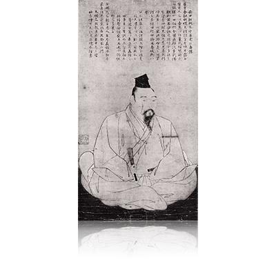 益田兼堯像 ますだかねたかぞう Masuda Kanetaka image. 雪舟 Sesshu