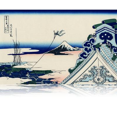 東都浅艸本願寺 とうとあさくさほんがんじ Asakusa Hongan-ji temple in the Eastern capital. wpfmf3604