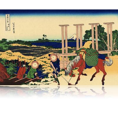 武州千住 ぶしゅうせんじゅ Senju. Musashi Province. wpfmf3614
